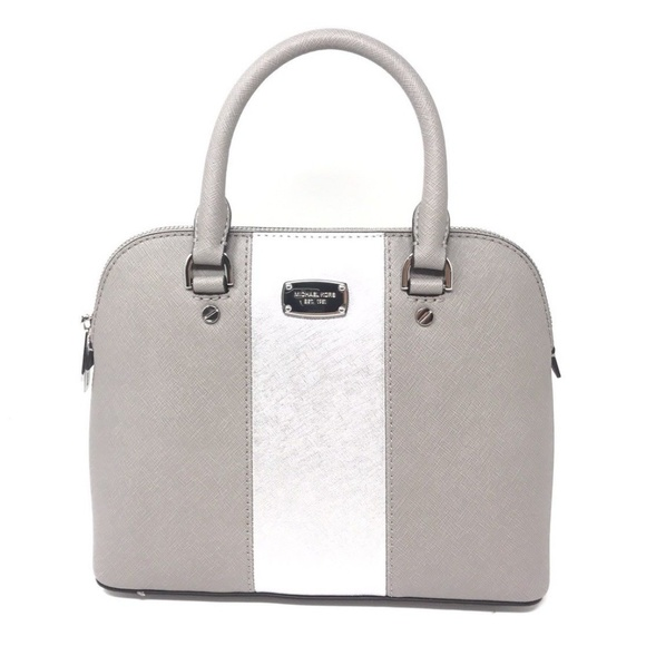ea8a0f655e25d7 Michael Kors Bags   Met Center Stripe Cindy Small Satchel   Poshmark